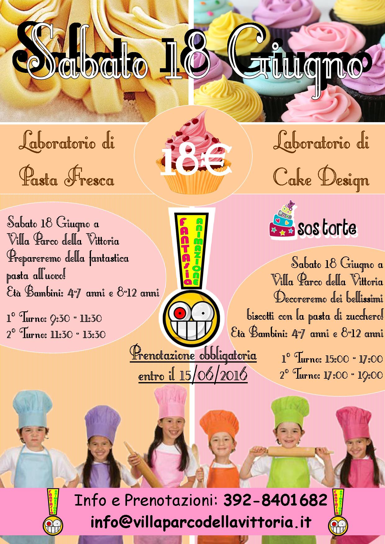 Corsi Di Cucina Per Bambini Villa Parco Della Vittoria Roma